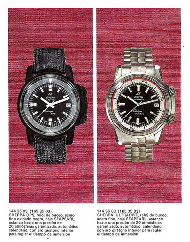 Enicar Sherpa Divers catalogue