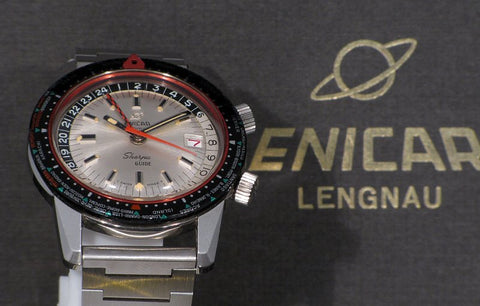 Enicar Sherpa Guide Mark III white dial