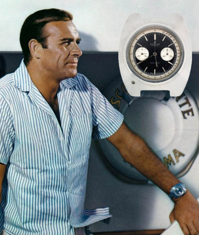 Image result for breitling top time connery wore in 007
