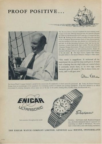 Old Enicar Sherpa Ad