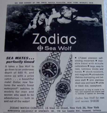 Zodiac sea wolf men and ladies