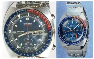 Seiko Pogue Early and New JDM models