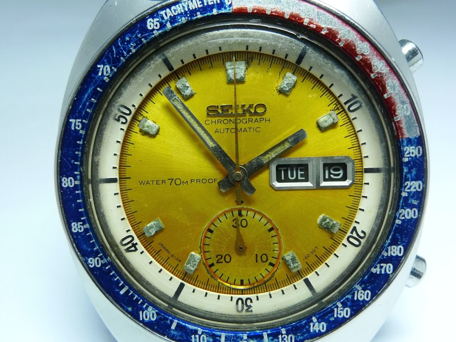 Seiko Pogue Proof dial