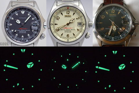 Seiko Alpinist 4S15A dial variation
