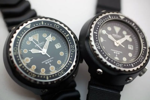 Seiko Tuna: Grandfather and Baby Tunas