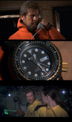 Seiko Tuna 7549-7009 in James Bond: For Your Eyes Only