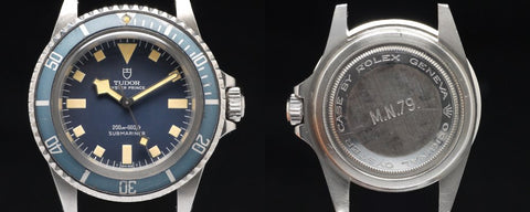 Rare Tudor Submariner Snowflake 9401/0 model