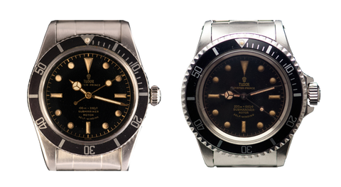 "Tudor Submariner ""Snowflake"" ref. 7922 and 7928"
