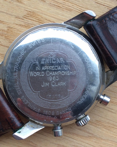 Jim Clark Sherpa graph back case
