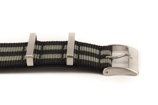 "Black & Grey Stripe ""James Bond""  - NATO New Standard"