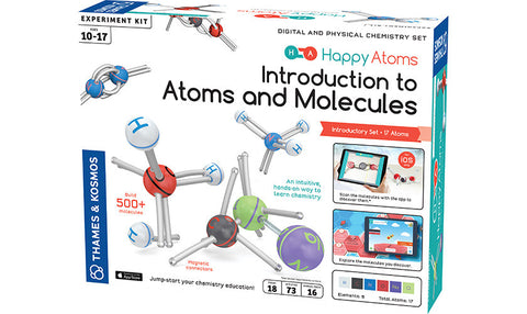 Thames Kosmos Happy Atoms Introduction To Atoms And Molecules, Age 10-17