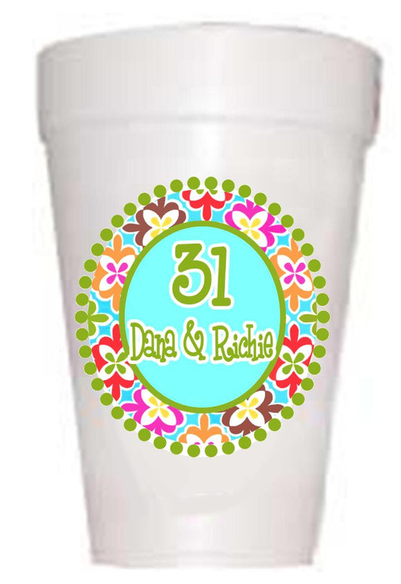 Full color Personalized Birthday cups