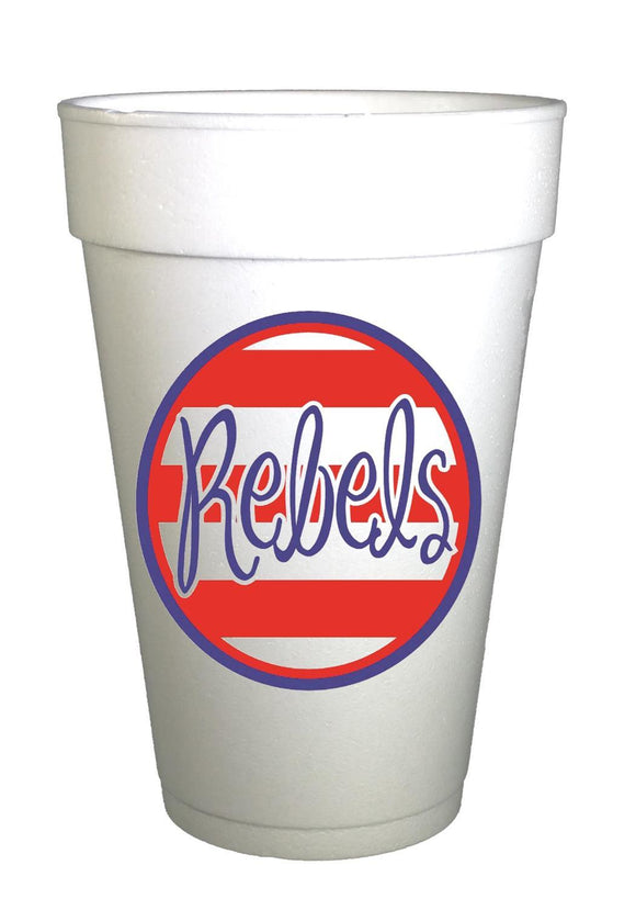 rebels stripe cup
