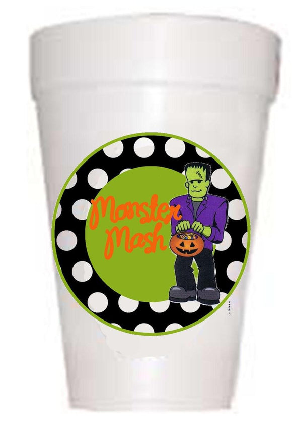 Monster Mash Halloween Party Cup