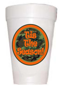 'Tis the Season Camo Christmas Cups - Preppy Mama