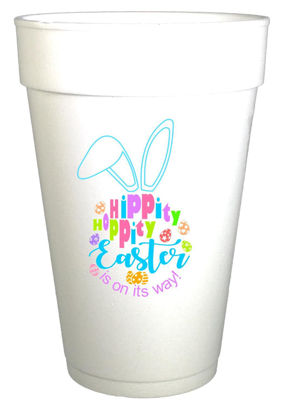 Hippity Hoppity Easter Party Cups
