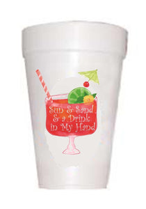 Drink in Hand Cups - Preppy Mama