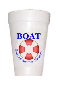 Boat-Bail Out Another Thousand Cups - Preppy Mama