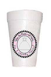 Brides Not Happy Styrofoam Cups - Preppy Mama