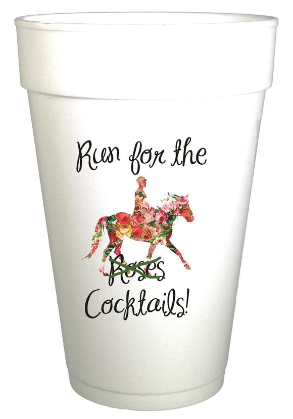 Run For Cocktails Cups