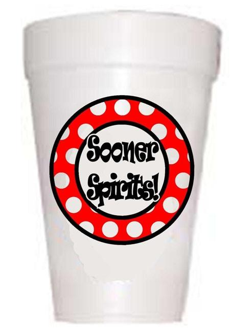 sooner spirits cups