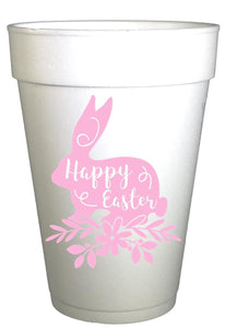 Pink Easter Bunny Easter Party Cups