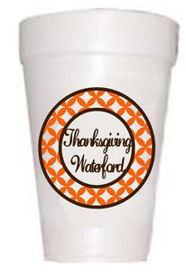 Thanksgiving Waterford Thanksgiving Cups-Thanksgiving Themed Cups-Preppy Mama