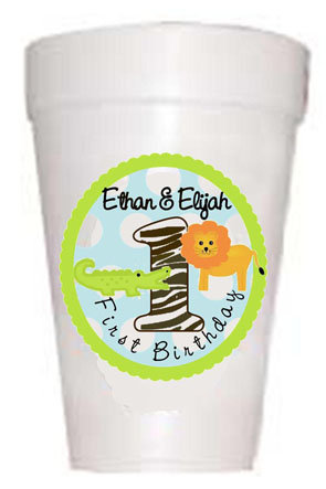 Childrens Personalized Birthday Cups-Custom Logo Design Cup-Full Color Cups-Preppy Mama