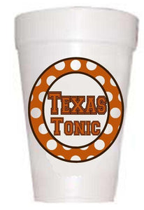 Texas Tonic cups