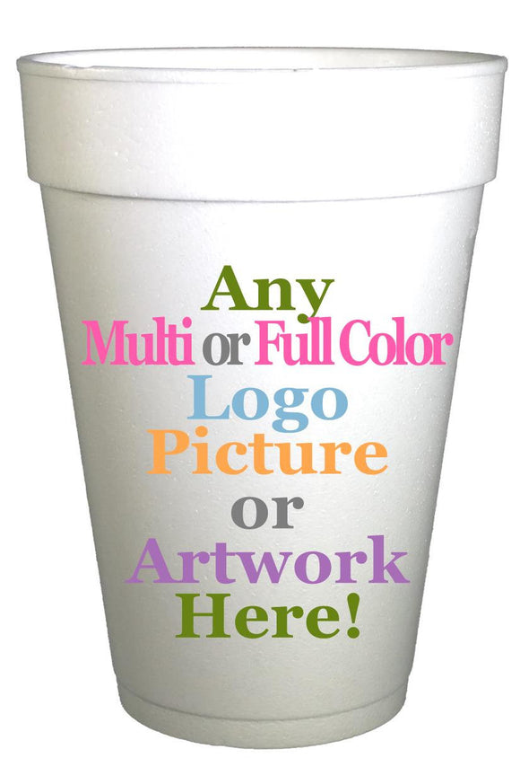 Personalized Baby Shower Cups-Custom Design Logo Cups-Preppy Mama