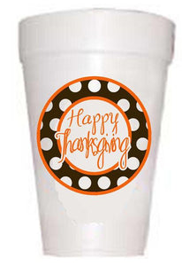 Happy Thanksgiving Cups-Thanksgiving Cups-Preppy Mama