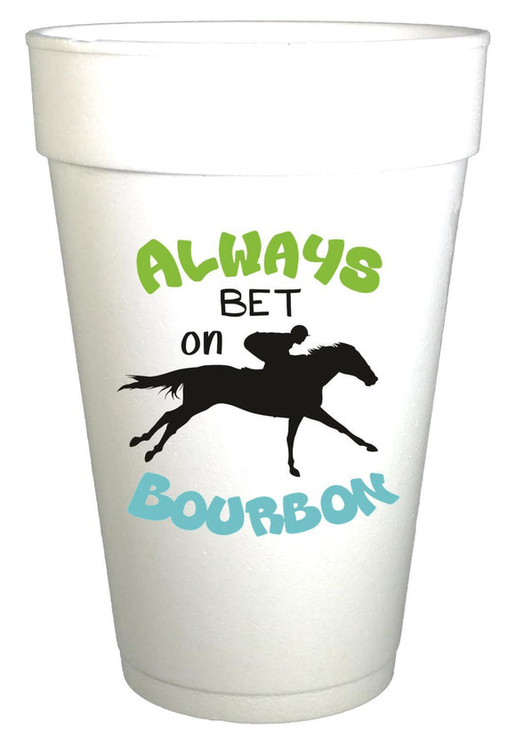 Bet on Bourbon Cups - Preppy Mama
