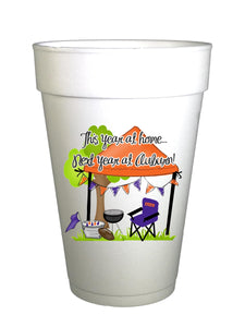 Auburn Homegating Cups