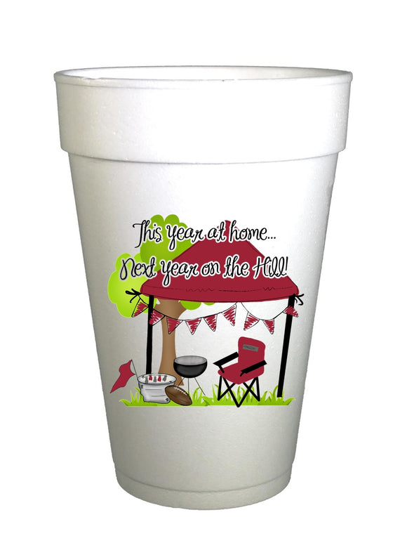 Arkansas Homegating Cups