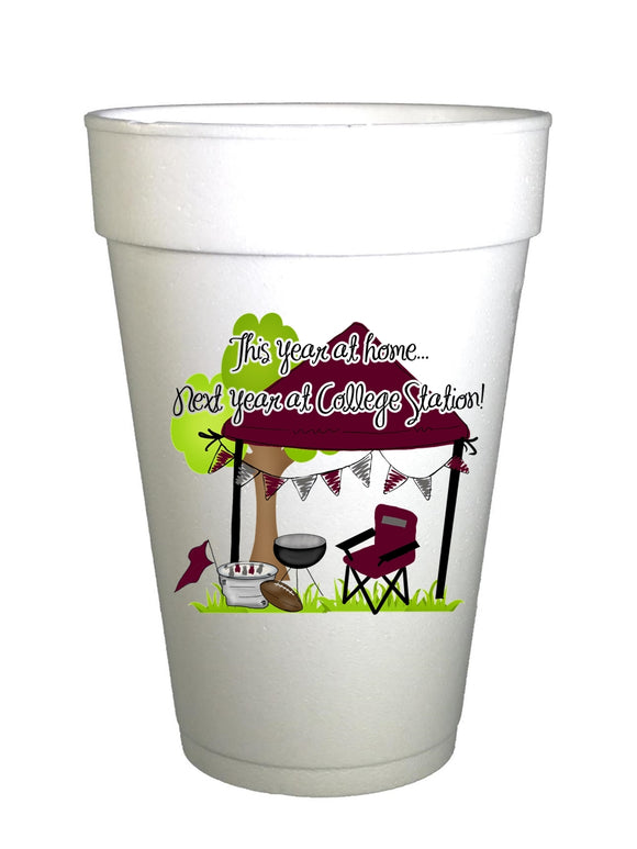 A & M Homegating Cups