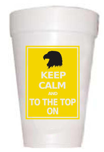 Copy of MSU Bulldogs Keep Calm Styrofoam Cups - Preppy Mama