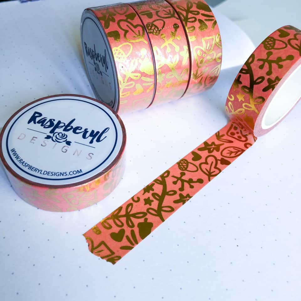 August Subscription - Washi Tape