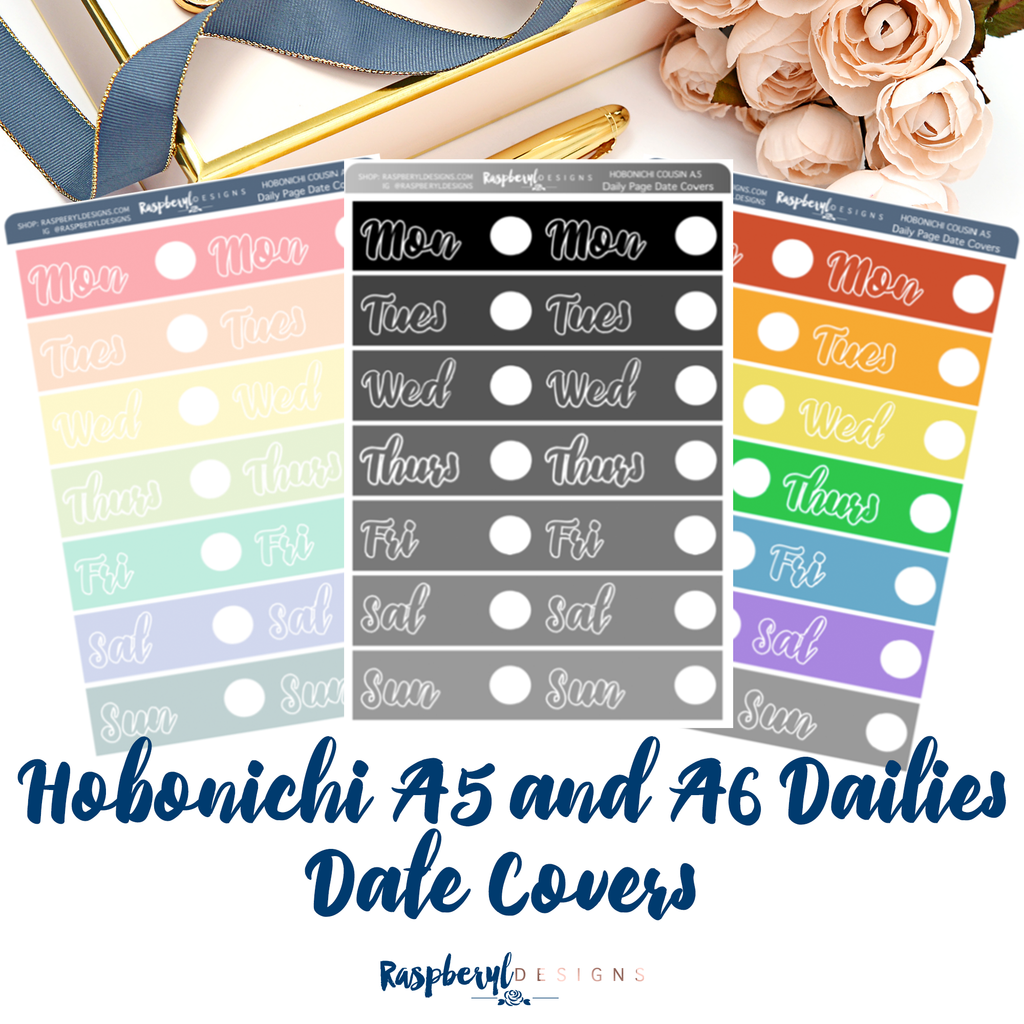 Hobonichi Daily Date Covers (A5+A6)