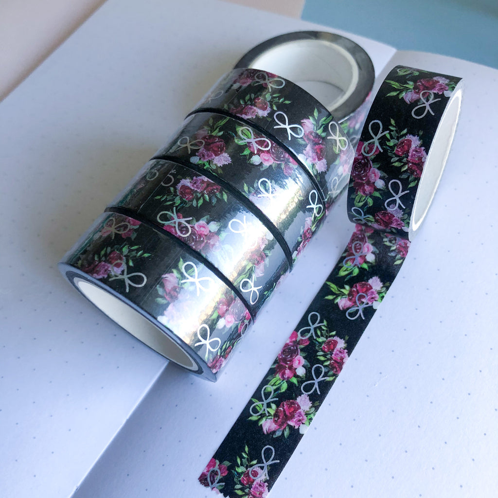 Washi Tape - Enchanted Garden - Holographic Foil