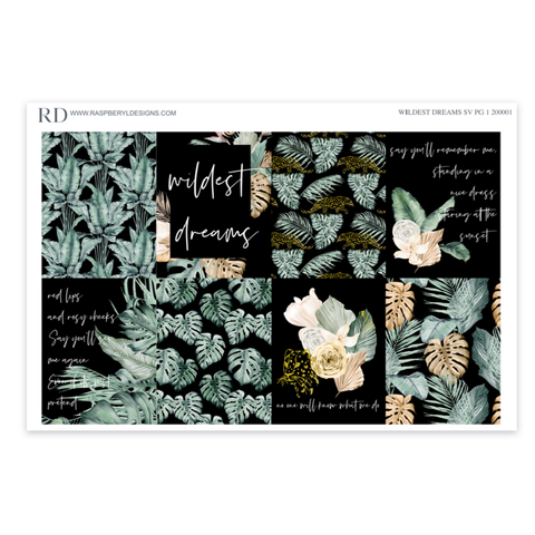 Standard Vertical Weekly - Wildest Dreams Mini Kit