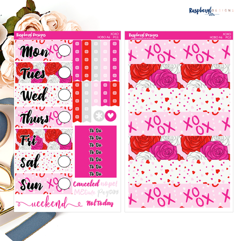 PRINTABLE XOXO Hobonichi A6 Mini Kit