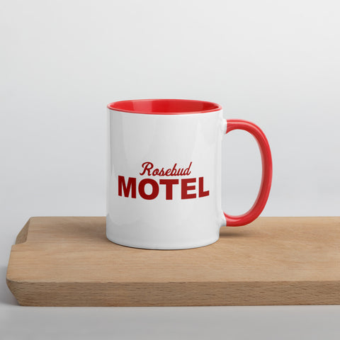 Rosebud Motel - Mug with Color Inside