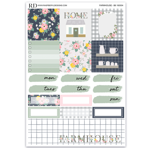 PPB6 Weekly - Summer Farmhouse Mini Kit