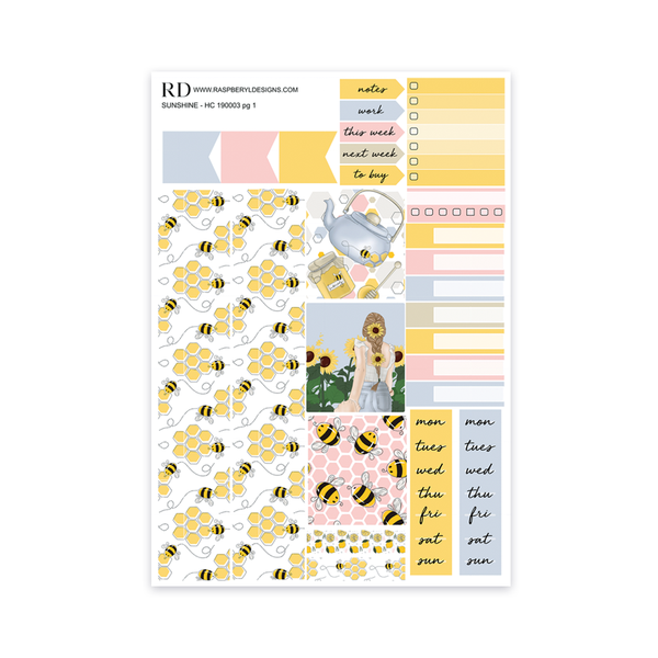 HOBONICHI COUSIN Weekly - Sunshine mini kit