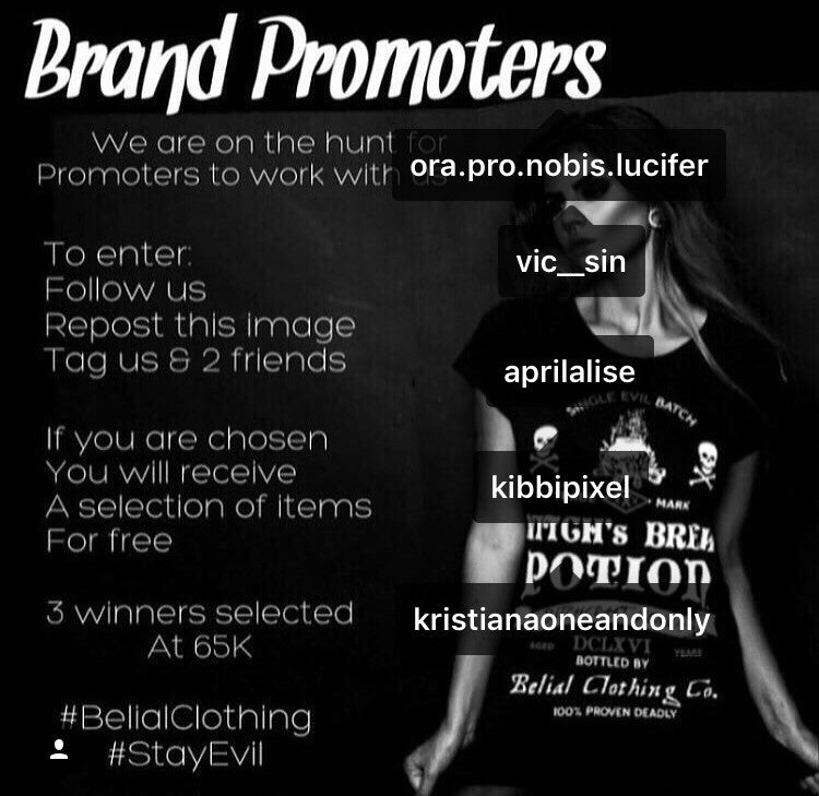 New Promoters WINNERS
