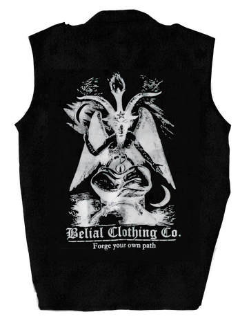Baphomet Patch Occult Satanic Belial Clothing