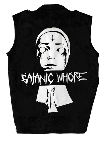Satanic Whore Patch Occult Satanic Belial Clothing
