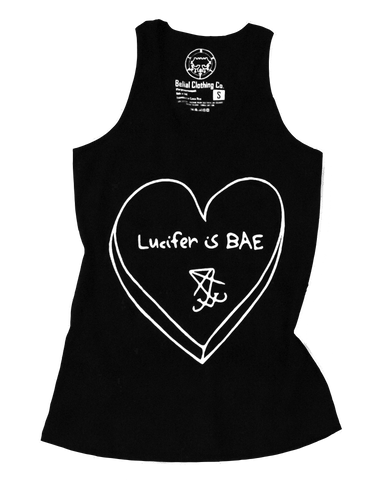 Lucifer is BAE Tank Top Occult Satanic Belial Clothing