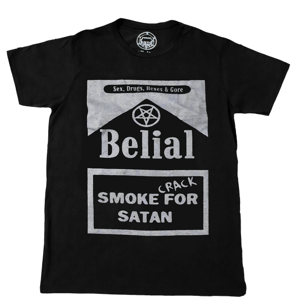 Crack For Satan Occult Satanic Belial Clothing