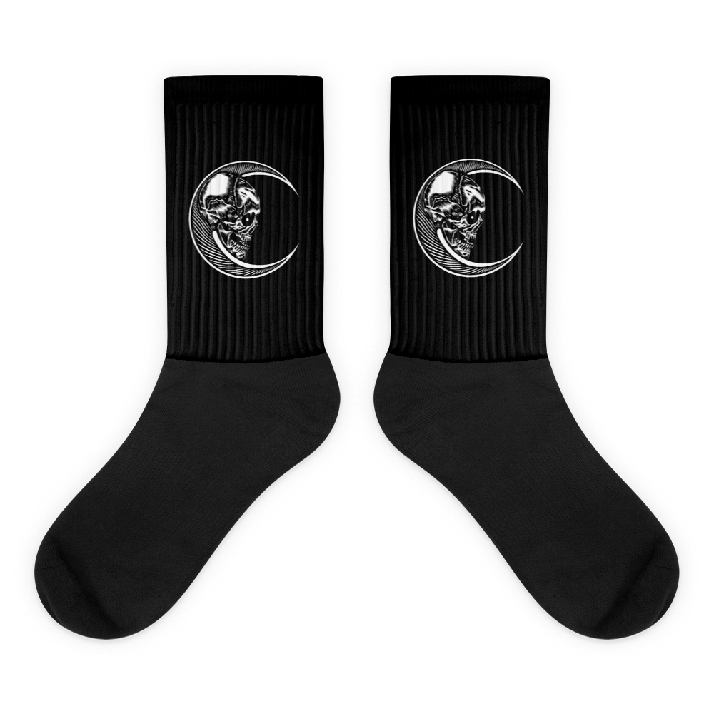 Moon Skull Socks